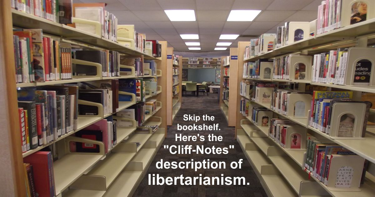 Is this the best short explanation of libertarian thought ever written?